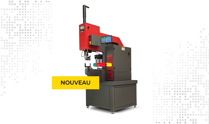 Nouvelle machine sertissage Robin Tôlerie industrielle