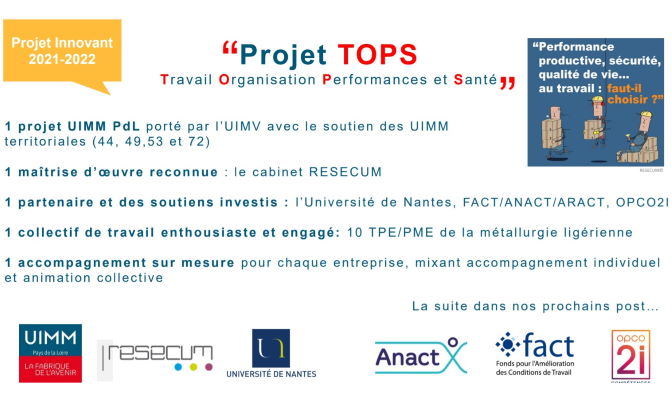 Affiche Projet TOPS
